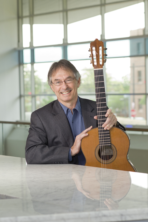 Photograph of Classical guitarist Allen Karntz who will be performing at Laurel Hill Mansion in Philadelphia PA on August 23, 2015